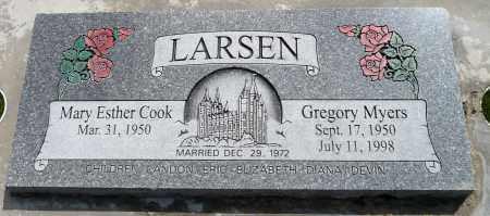 LARSEN, GREGORY MYERS - Utah County, Utah | GREGORY MYERS LARSEN - Utah Gravestone Photos