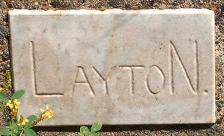 LAYTON, UNKNOWN - Utah County, Utah | UNKNOWN LAYTON - Utah Gravestone Photos