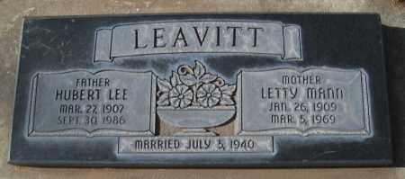 LEAVITT, HUBERT LEE - Utah County, Utah | HUBERT LEE LEAVITT - Utah Gravestone Photos