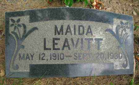 LEAVITT, MAIDA - Utah County, Utah | MAIDA LEAVITT - Utah Gravestone Photos