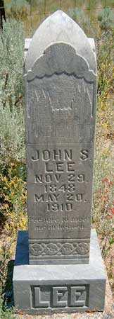 LEE, JOHN STANFORTH - Utah County, Utah | JOHN STANFORTH LEE - Utah Gravestone Photos