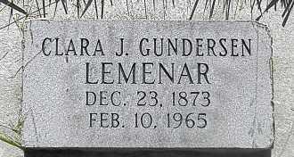 GUNDERSON, CLARA JOSEPHINE - Utah County, Utah | CLARA JOSEPHINE GUNDERSON - Utah Gravestone Photos