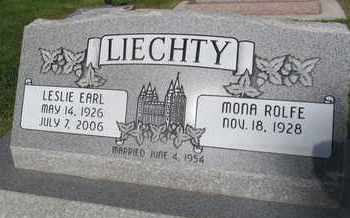 ROLFE, MONA - Utah County, Utah | MONA ROLFE - Utah Gravestone Photos