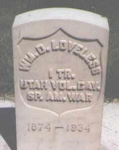 LOVELESS (SA), WILLIAM DUNCAN - Utah County, Utah | WILLIAM DUNCAN LOVELESS (SA) - Utah Gravestone Photos