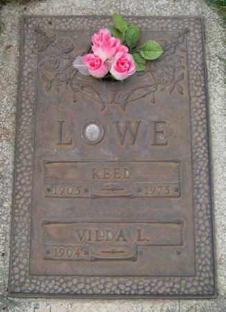 LOWE, VILDA - Utah County, Utah | VILDA LOWE - Utah Gravestone Photos