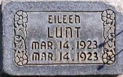 LUNT, EILEEN - Utah County, Utah | EILEEN LUNT - Utah Gravestone Photos