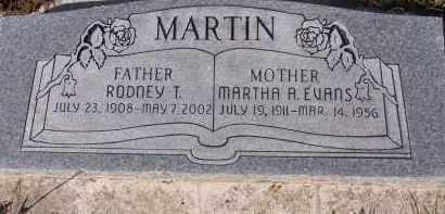 EVANS, MARTHA ANN - Utah County, Utah   MARTHA ANN EVANS - Utah Gravestone Photos