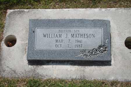 MATHESON, WILLIAM J. - Utah County, Utah | WILLIAM J. MATHESON - Utah Gravestone Photos