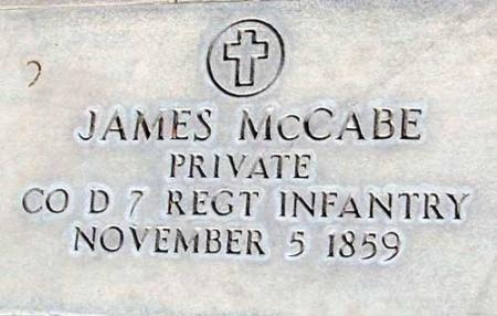 MCCABE (SERV), JAMES - Utah County, Utah | JAMES MCCABE (SERV) - Utah Gravestone Photos