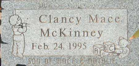 MCKINNEY, CLANCY MACE - Utah County, Utah | CLANCY MACE MCKINNEY - Utah Gravestone Photos