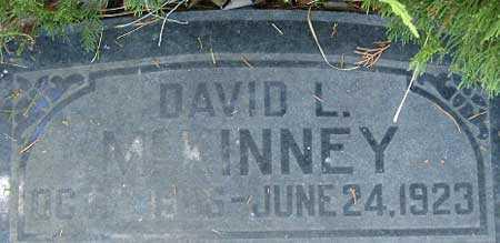 MCKINNEY, DAVID LEHMAN - Utah County, Utah   DAVID LEHMAN MCKINNEY - Utah Gravestone Photos