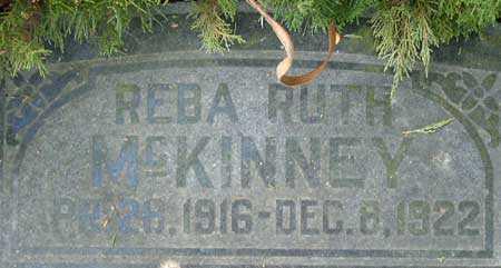 MCKINNEY, REBA RUTH - Utah County, Utah | REBA RUTH MCKINNEY - Utah Gravestone Photos