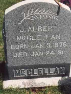 MCCLELLAN, JACOB ALBERT - Utah County, Utah | JACOB ALBERT MCCLELLAN - Utah Gravestone Photos