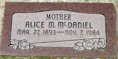 MCDANIEL, ALICE - Utah County, Utah | ALICE MCDANIEL - Utah Gravestone Photos
