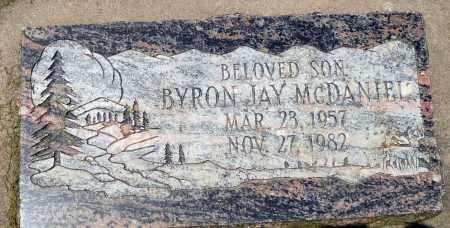 MCDANIEL, BYRON JAY - Utah County, Utah | BYRON JAY MCDANIEL - Utah Gravestone Photos