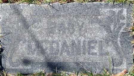 MCDANIEL, BABY - Utah County, Utah | BABY MCDANIEL - Utah Gravestone Photos