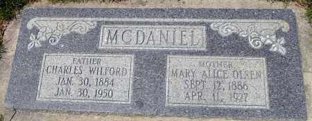 MCDANIEL, MARY ALICE - Utah County, Utah | MARY ALICE MCDANIEL - Utah Gravestone Photos