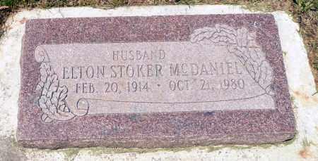 MCDANIEL, ELTON STOKER - Utah County, Utah   ELTON STOKER MCDANIEL - Utah Gravestone Photos