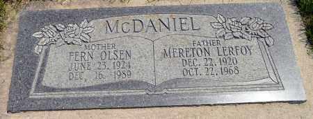 MCDANIEL, FERN IVA - Utah County, Utah | FERN IVA MCDANIEL - Utah Gravestone Photos