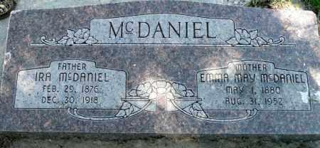 MCDANIEL, EMMA MAY - Utah County, Utah | EMMA MAY MCDANIEL - Utah Gravestone Photos