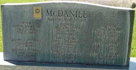 MCDANIEL, JOHN RILEY, SR. - Utah County, Utah | JOHN RILEY, SR. MCDANIEL - Utah Gravestone Photos