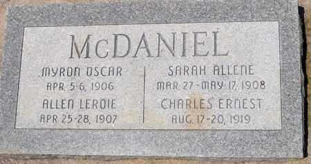 MCDANIEL, MYRON OSCAR - Utah County, Utah | MYRON OSCAR MCDANIEL - Utah Gravestone Photos