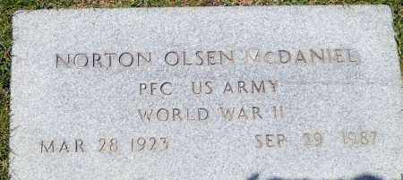 MCDANIEL (WWII), NORTON OLSEN - Utah County, Utah   NORTON OLSEN MCDANIEL (WWII) - Utah Gravestone Photos