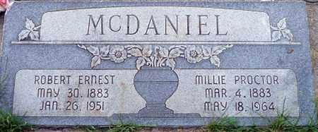 PROCTOR MCDANIEL, MILLIE - Utah County, Utah | MILLIE PROCTOR MCDANIEL - Utah Gravestone Photos