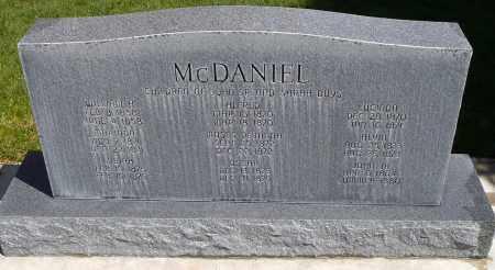 MCDANIEL, OSCAR - Utah County, Utah | OSCAR MCDANIEL - Utah Gravestone Photos