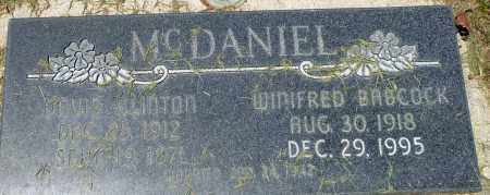 MCDANIEL, DAVID CLINTON - Utah County, Utah | DAVID CLINTON MCDANIEL - Utah Gravestone Photos