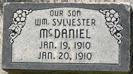 MCDANIEL, WILLIAM SYLVESTER - Utah County, Utah | WILLIAM SYLVESTER MCDANIEL - Utah Gravestone Photos