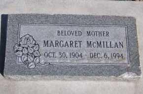 MCMILLAN, MARGARET - Utah County, Utah | MARGARET MCMILLAN - Utah Gravestone Photos