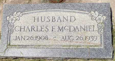 MCDANIEL, CHARLES FARNSWORTH - Utah County, Utah   CHARLES FARNSWORTH MCDANIEL - Utah Gravestone Photos