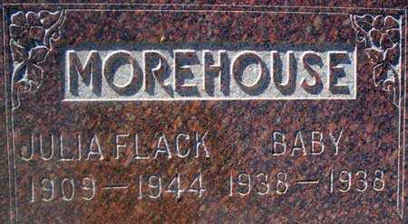 FLACK MOREHOUSE, JULIA EMMA - Utah County, Utah | JULIA EMMA FLACK MOREHOUSE - Utah Gravestone Photos