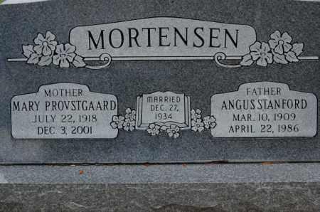 PROVSTGAARD MORTENSEN, MARY - Utah County, Utah | MARY PROVSTGAARD MORTENSEN - Utah Gravestone Photos