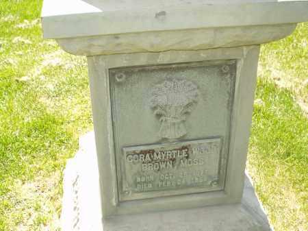 BROWN, CORA MYRTLE - Utah County, Utah | CORA MYRTLE BROWN - Utah Gravestone Photos