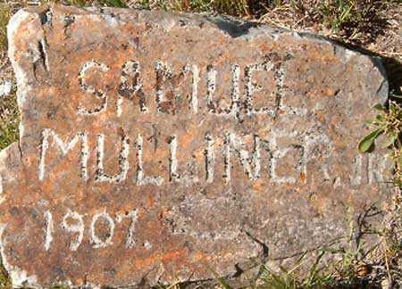 MULLINER, SAMUEL, JR - Utah County, Utah | SAMUEL, JR MULLINER - Utah Gravestone Photos