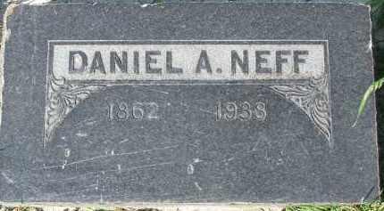 NEFF, DANIEL ABRAHAM - Utah County, Utah   DANIEL ABRAHAM NEFF - Utah Gravestone Photos