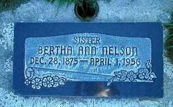 NELSON, BERTHA ANN - Utah County, Utah | BERTHA ANN NELSON - Utah Gravestone Photos