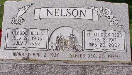 NELSON, CLAUDE HEELIS - Utah County, Utah | CLAUDE HEELIS NELSON - Utah Gravestone Photos