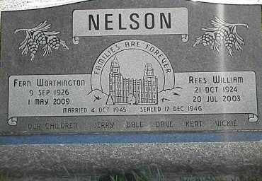 NELSON, FERN - Utah County, Utah | FERN NELSON - Utah Gravestone Photos