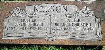 NELSON, WILLIAM CHRISTIAN - Utah County, Utah | WILLIAM CHRISTIAN NELSON - Utah Gravestone Photos