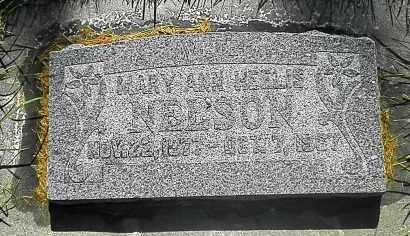 NELSON, MARY ANN - Utah County, Utah | MARY ANN NELSON - Utah Gravestone Photos