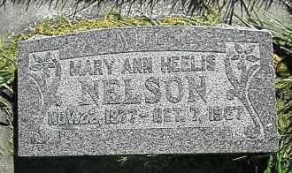 NELSON, MARY ANN - Utah County, Utah   MARY ANN NELSON - Utah Gravestone Photos