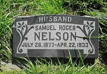 NELSON, SAMUEL ROGER - Utah County, Utah | SAMUEL ROGER NELSON - Utah Gravestone Photos