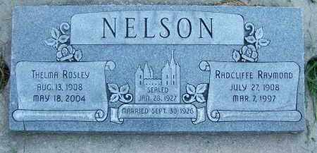 NELSON, THELMA - Utah County, Utah | THELMA NELSON - Utah Gravestone Photos