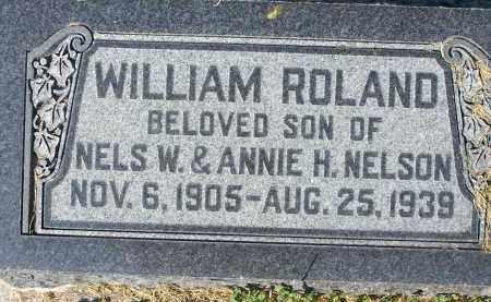 NELSON, WILLIAM ROLAND - Utah County, Utah   WILLIAM ROLAND NELSON - Utah Gravestone Photos