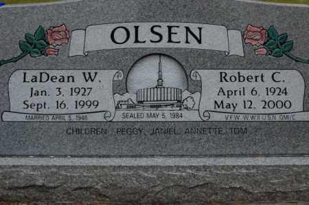 OLSEN, ROBERT CARTER - Utah County, Utah | ROBERT CARTER OLSEN - Utah Gravestone Photos