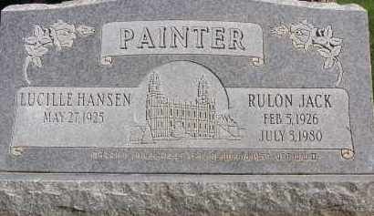 HANSEN, LUCILLE - Utah County, Utah   LUCILLE HANSEN - Utah Gravestone Photos