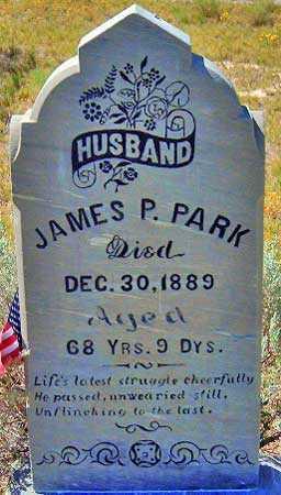 PARK, JAMES POLLOCK - Utah County, Utah | JAMES POLLOCK PARK - Utah Gravestone Photos